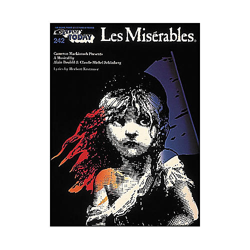 Hal Leonard Les Miserables E-Z Play 242