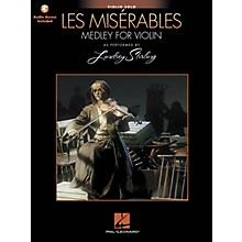 Hal Leonard Les Miserables (Medley for Violin Solo) Violin Series Softcover Audio Online by Lindsey Stirling