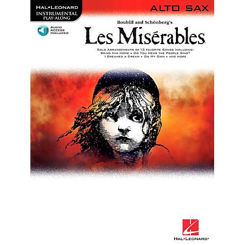 Hal Leonard Les Miserables for Alto Sax - Instrumental Play-Along Book/CD