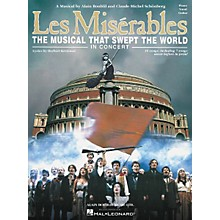 Hal Leonard Les Miserables in Concert Vocal Selections Book