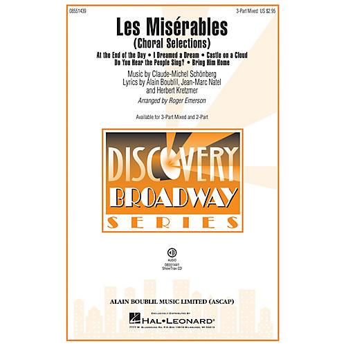 Hal Leonard Les Misérables (Choral Selections 3-Part Mixed) 3-Part Mixed arranged by Roger Emerson
