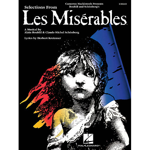 Hal Leonard Les Misérables (Instrumental Solos for Cello) Instrumental Solo Series Softcover