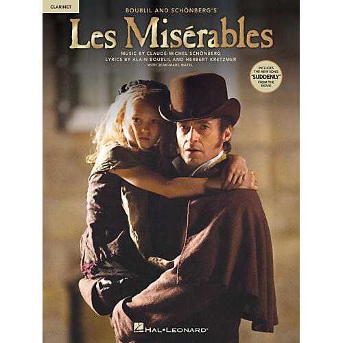 Hal Leonard Les Misrables  Instrumental Solos from the Movie for Clarinet