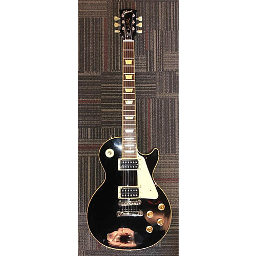 Gibson Les Paul Classic Solid Body Electric Guitar Black