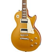 Les Paul Classic Worn Electric Guitar Worn Metallic Gold