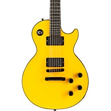 Les Paul Custom Chambered Blackout Electric Guitar Diablo Yellow