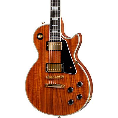 Epiphone Les Paul Custom Koa Electric Guitar
