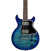 Les Paul Special Double-Cut Figured Maple Top  Electric Guitar Blue Burst