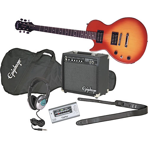 epiphone les paul special ii left handed electric guitar and all access amp pack musician 39 s friend. Black Bedroom Furniture Sets. Home Design Ideas