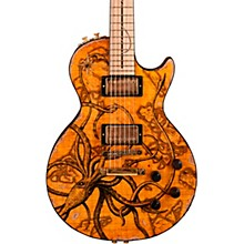 """Gibson Custom Les Paul Standard """"Kraken"""" Art"""