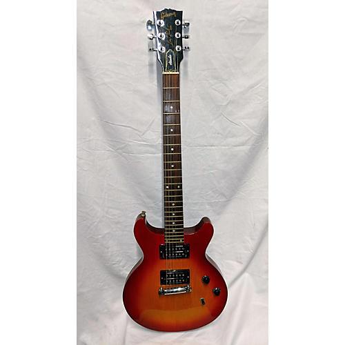 Gibson Les Paul Studio Double Cut Solid Body Electric Guitar Cherry Sunburst