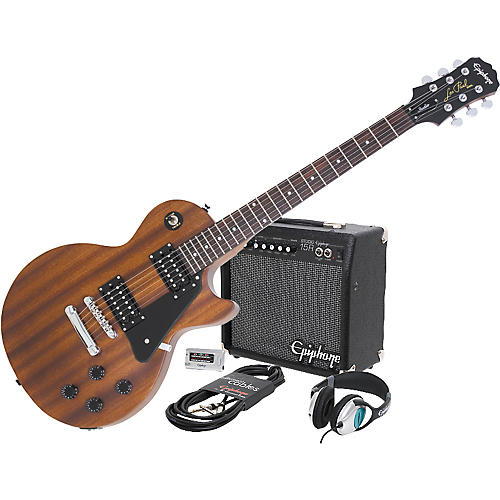 Epiphone Les Paul Studio Electric Guitar and All Access Amp Pack