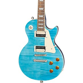 epiphone les paul traditional pro iii plus limited edition electric guitar ocean blue musician. Black Bedroom Furniture Sets. Home Design Ideas
