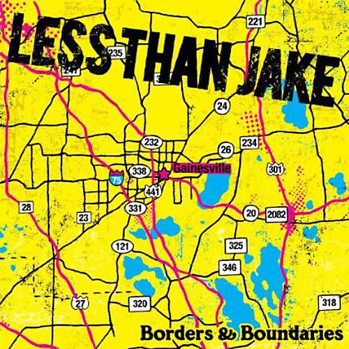 Alliance Less than Jake - Borders and Boundaries