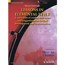 Schott Lessons in Elemental Style