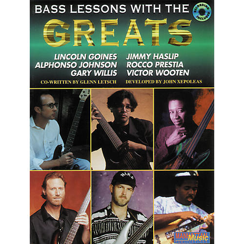 Alfred Lessons with the Greats - Bass (CD)