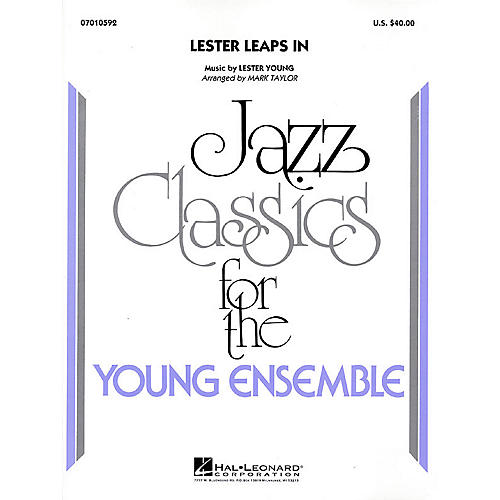 Hal Leonard Lester Leaps In Jazz Band Level 3 Arranged by Mark Taylor