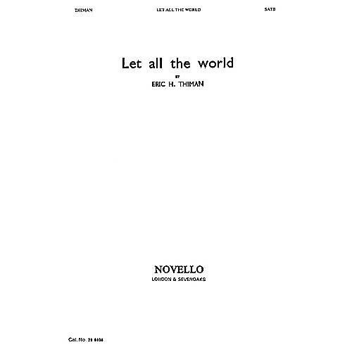 Novello Let All the World SATB Written by George Herbert