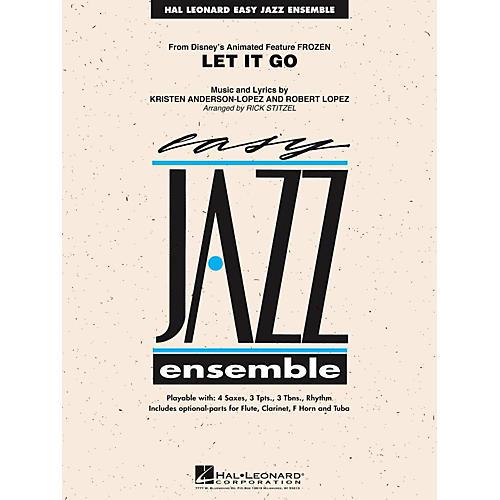 Hal Leonard Let It Go (From Frozen) Easy Jazz Ensemble Series Level 2