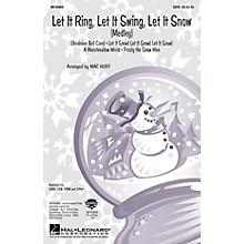 Hal Leonard Let It Ring, Let It Swing, Let It Snow (Medley) TTBB Arranged by Mac Huff