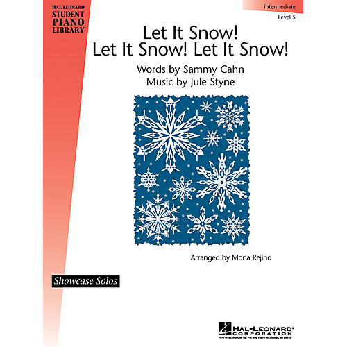 Hal Leonard Let It Snow! Let It Snow! Let It Snow! Piano Library Series by Jule Styne (Level Inter)