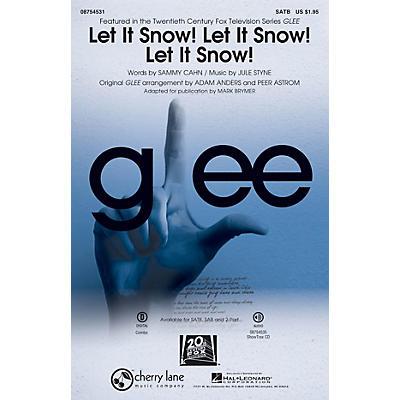 Cherry Lane Let It Snow! Let It Snow! Let It Snow! SAB by Glee Cast Arranged by Adam Anders