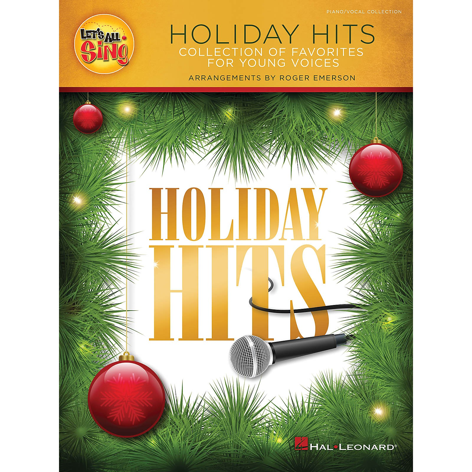 Hal Leonard Let's All Sing Holiday Hits (Collection of ...
