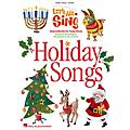 Hal Leonard Let's All Sing Holiday Songs (Song Collection for Young Voices) Singer's Ed Arranged by Alan Billingsley thumbnail