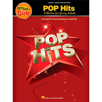 Hal Leonard Let's All Sing Pop Hits - Collection for Young Voices Piano Vocal Collection