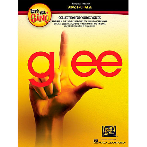 Hal Leonard Let's All Sing Songs From Glee - A Collection for Young Voices Piano/Vocal Collection