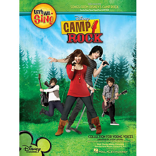 Hal Leonard Let's All Sing Songs from Disney's Camp Rock Performance/Accompaniment CD Arranged by Jason Lavenka
