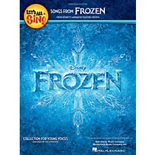 Hal Leonard Let's All Sing Songs from Frozen (Collection for Young Voices) Singer 10 Pak Arranged by Tom Anderson
