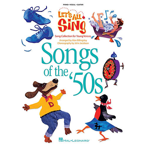 Hal Leonard Let's All Sing Songs of the '50s (Song Collection for Young Voices) P/V Score by Alan Billingsley