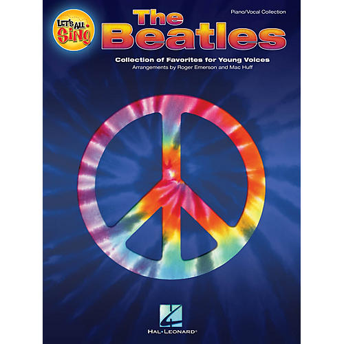 Hal Leonard Let's All Sing The Beatles Performance/Accompaniment CD Arranged by Roger Emerson