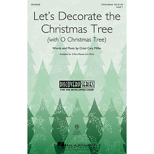 Hal Leonard Let's Decorate the Christmas Tree VoiceTrax CD Composed by Cristi Cary Miller