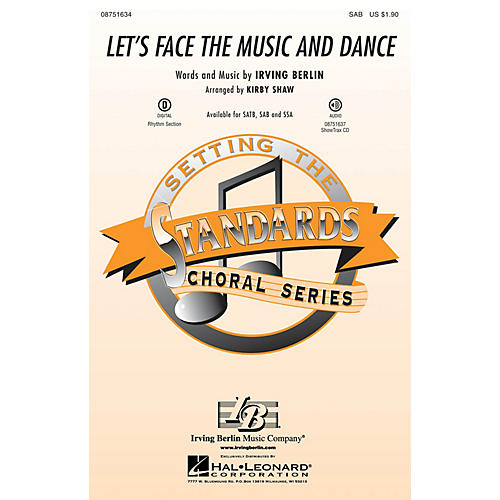 Hal Leonard Let's Face the Music and Dance SAB arranged by Kirby Shaw