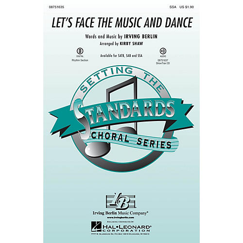 Hal Leonard Let's Face the Music and Dance SSA arranged by Kirby Shaw