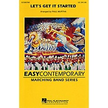 Cherry Lane Let's Get It Started Marching Band Level 2 Arranged by Paul Murtha