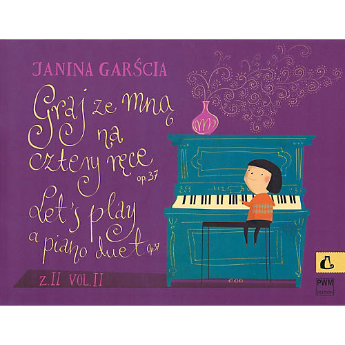 PWM Let's Play a Piano Duet Op. 37 Vol. 2 PWM Series Softcover