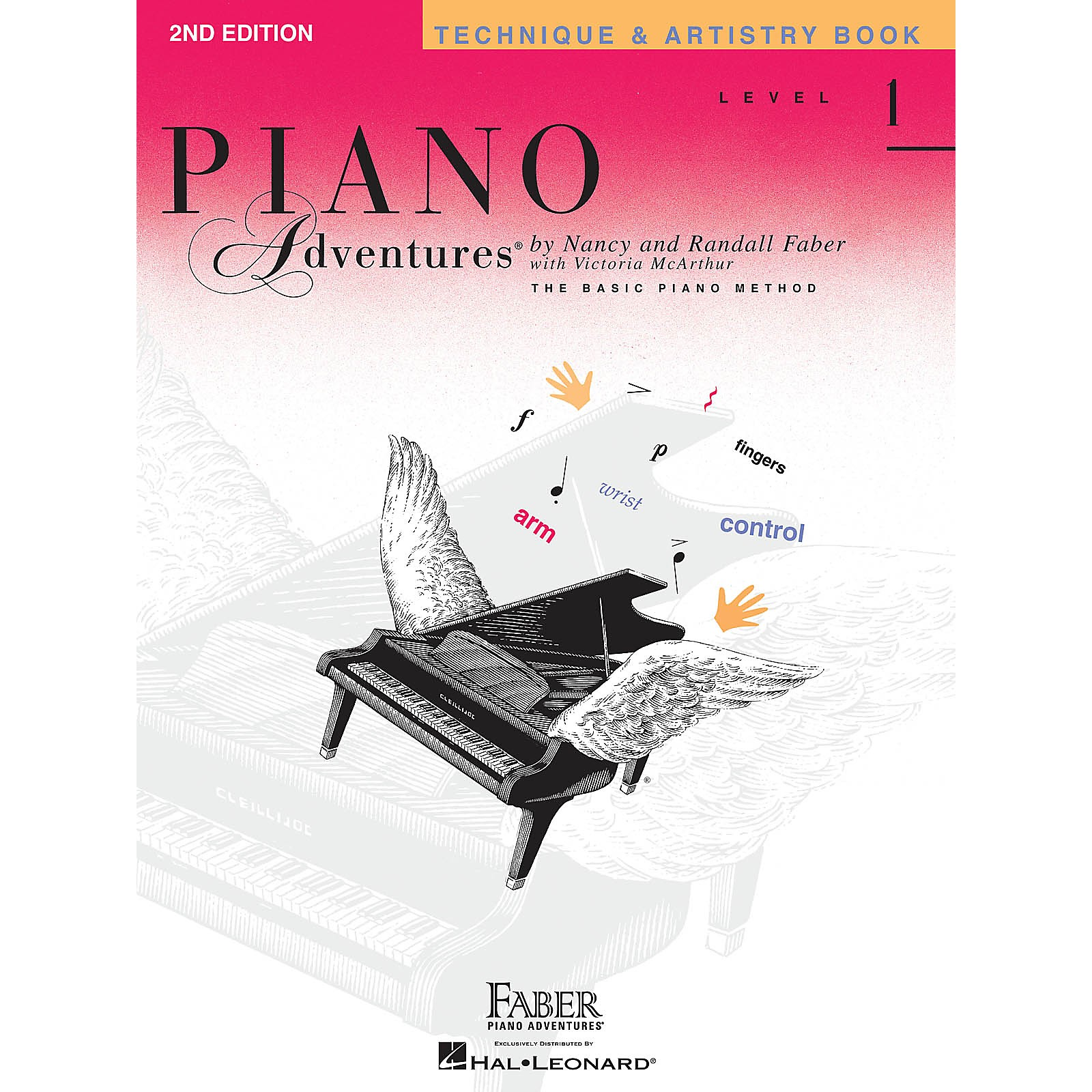 Faber Piano Adventures Level 1 - Technique & Artistry Book - Original Edition Faber Piano Adventures Book by Nancy Faber