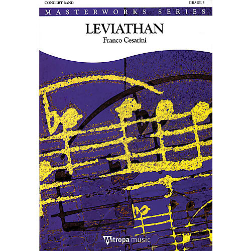 De Haske Music Leviathan (Score and Parts) Concert Band Level 5 Arranged by Franco Cesarini