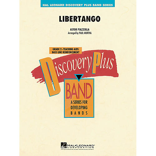 Hal Leonard Libertango - Discovery Plus Concert Band Series Level 2 arranged by Paul Murtha
