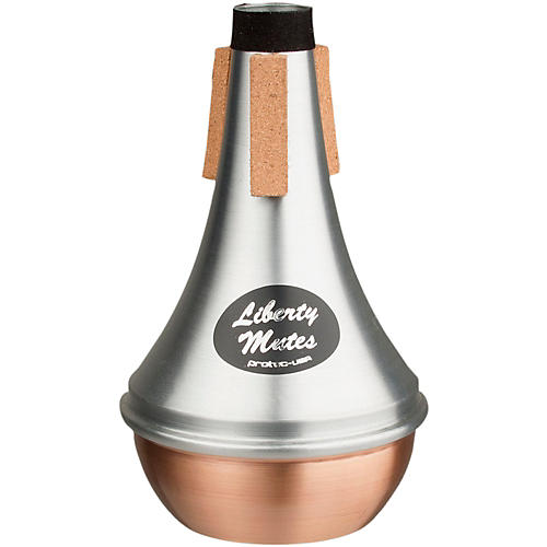 Protec Liberty Trumpet Straight Aluminum Mute With Copper End