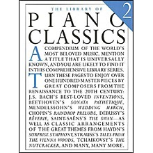 Music Sales Library Of Piano Classics 2 By Appleby