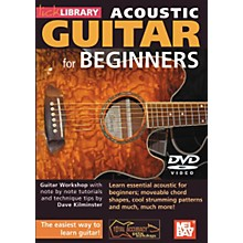 Mel Bay Lick Library Acoustic Guitar for Beginners DVD