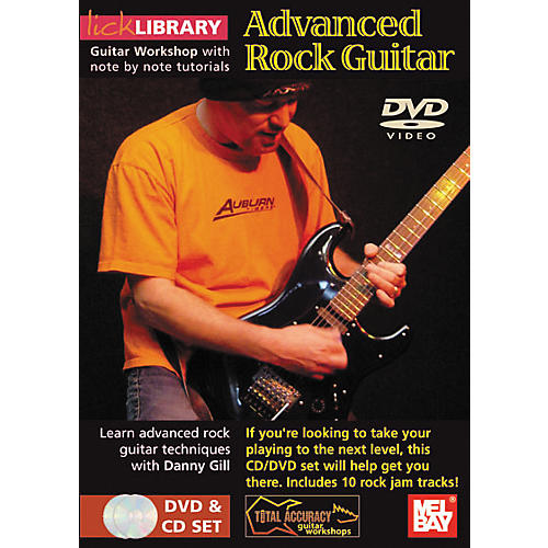 Mel Bay Lick Library Advanced Rock Guitar DVD