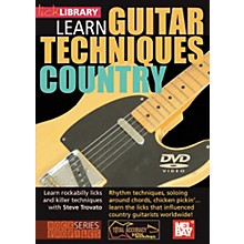 Mel Bay Lick Library Learn Guitar Techniques: Country DVD