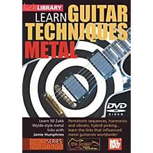 Mel Bay Lick Library Learn Guitar Techniques: Metal Zakk Wylde Style DVD