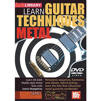Mel Bay Lick Library Learn Guitar Techniques: Metal Zakk Wylde Style DVD
