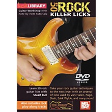 Mel Bay Lick Library Learn To Play 50 Rock Killer Licks DVD